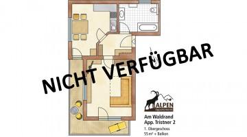 55 m² für 2 Personen in der Sportplatzstrasse 309