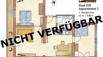 65 m² für 2-4 Personen in der Sportplatzstrasse 320