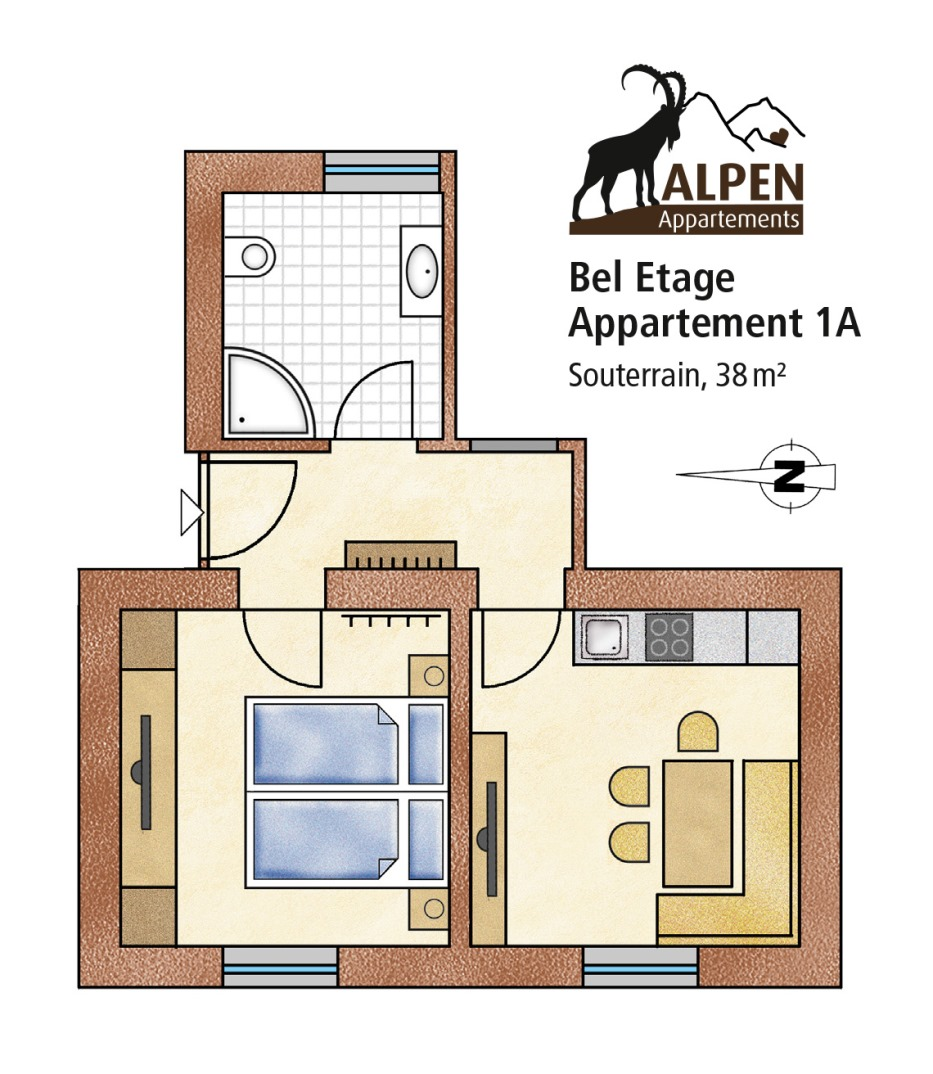 Was Ist Souterrain apartment beletage i in mayrhofen